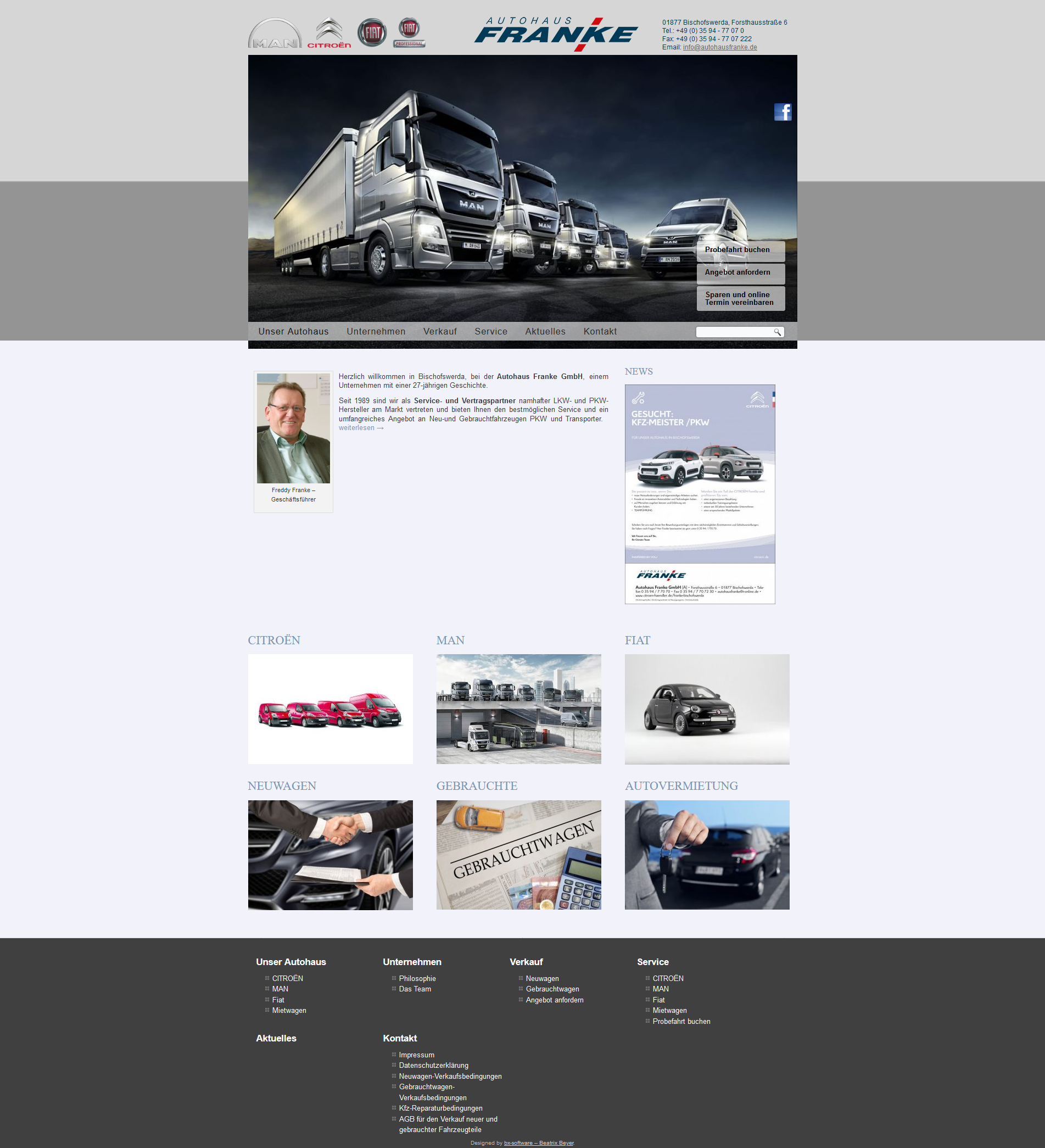 Autohaus Franke GmbH in 01877 Bischofswerda
