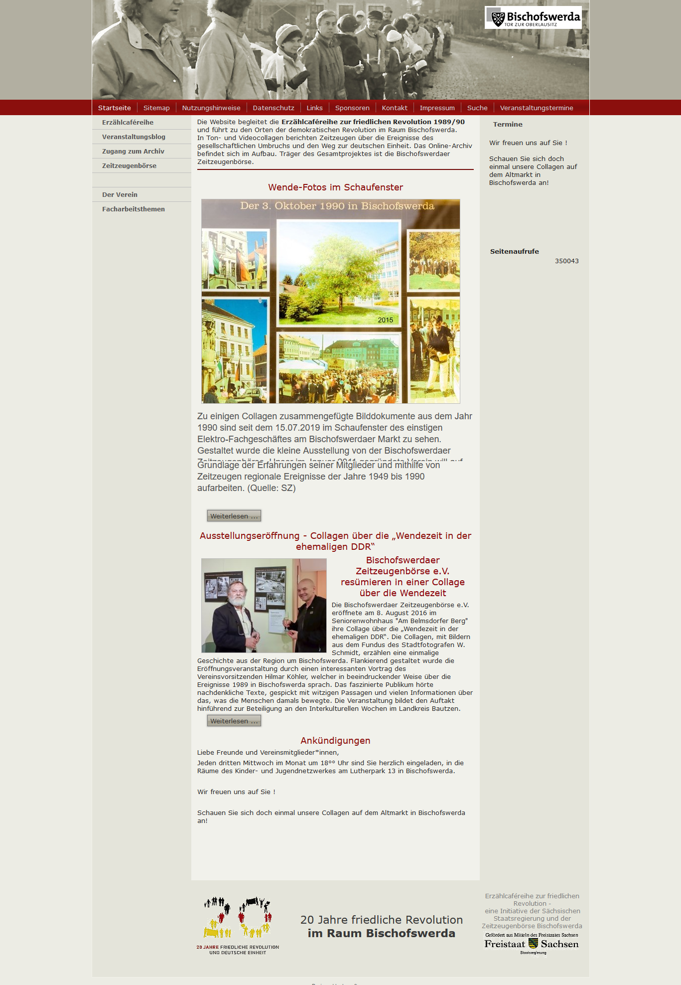 Die Friedliche Revolution im Raum Bischofswerda