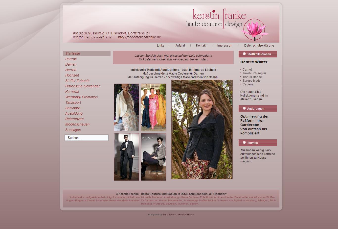 Kerstin Franke Haute Couture und Design in 96132 Schlüsselfeld OT Elsendorf