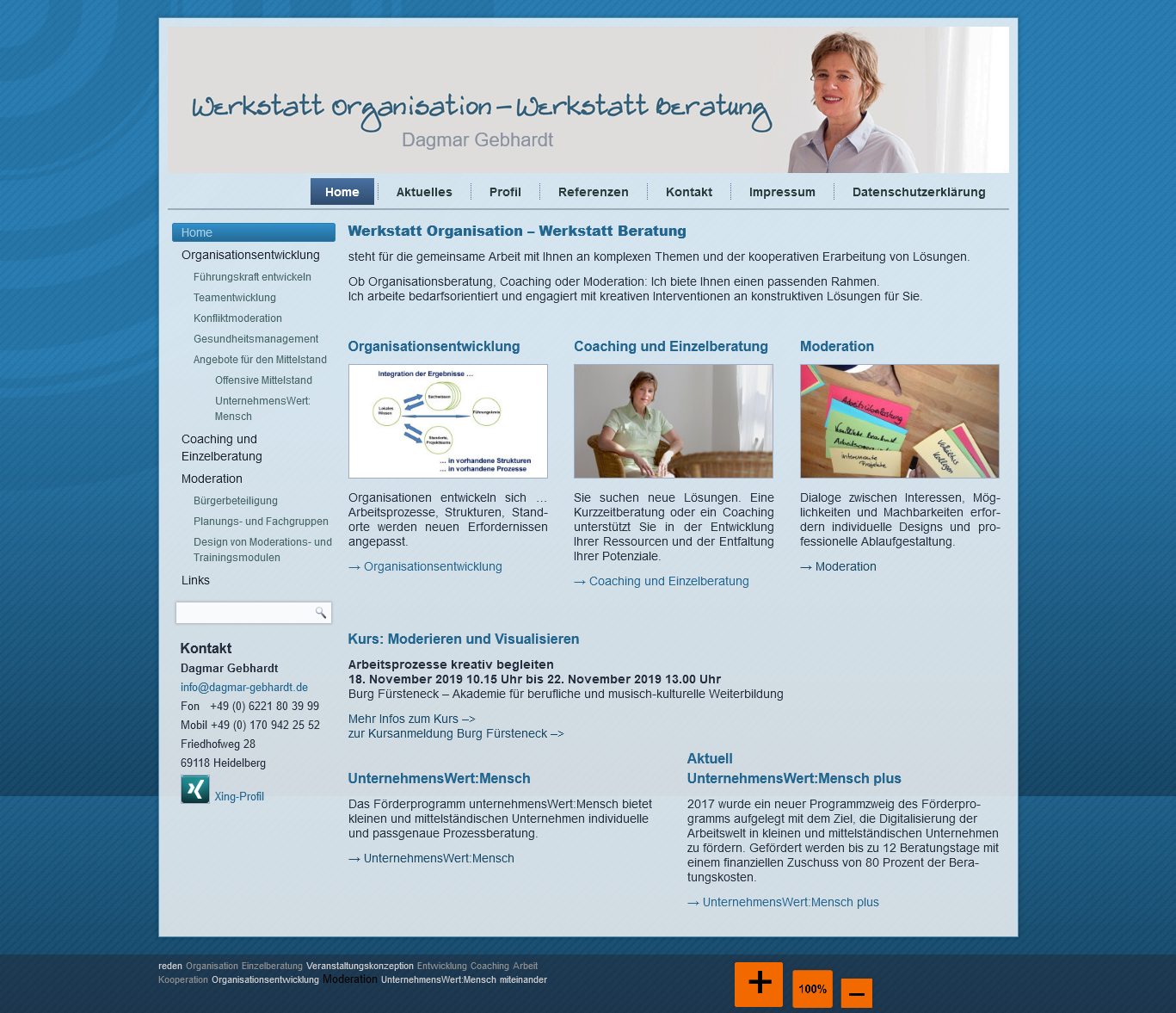 Werkstatt Organisation – Werkstatt Beratung Dagmar Gebhardt Heidelberg